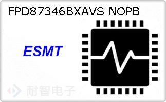FPD87346BXAVS NOPB